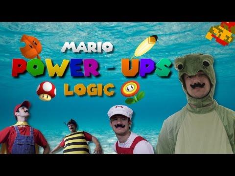 MARIO POWER-UPS LOGIC IN REAL LIFE