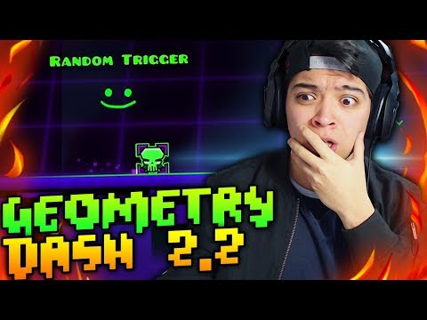 Geometry Dash 2.2 Sneak Peek l Nuevo Random Trigger!!!