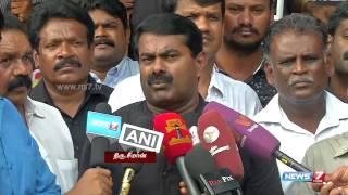 Seeman demands international probe in Lankan genocide
