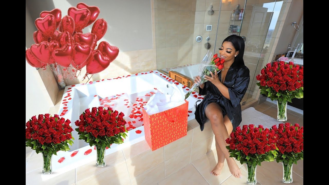 Surprising De'arra for Valentine's Day *EMOTIONAL*