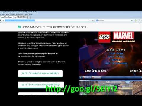 gratuitlego marvel super heros tlcharger franaisenglish tuto