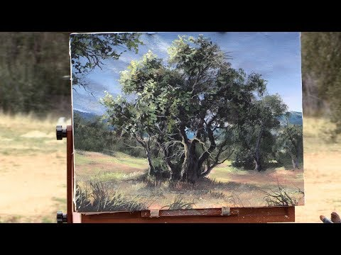 The Olive Tree Grove - Plein Air | Paint with Kevin ®