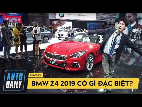 Đánh giá nhanh BMW Z4 2019: HỚP HỒN phái đẹp  2019 BMW Z4 Review   BIMS 2019 