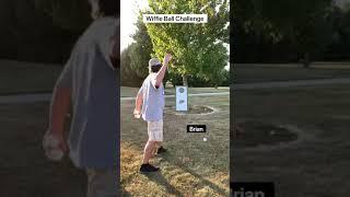 Wiffle Ball Challenge!