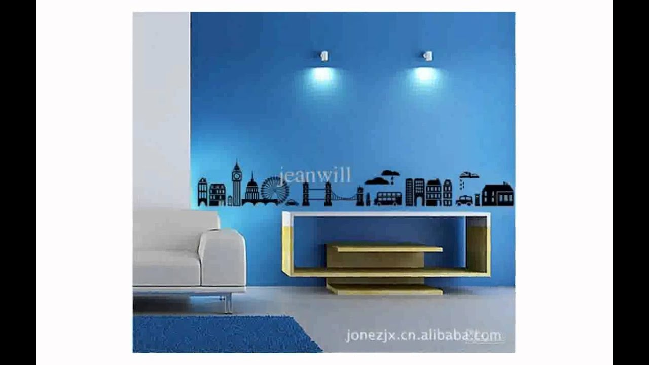 City Wall Decals - YouTube