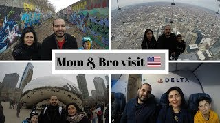 USA Trip - Mom & Brother first visit to the US (Chicago, Detroit, Boston)