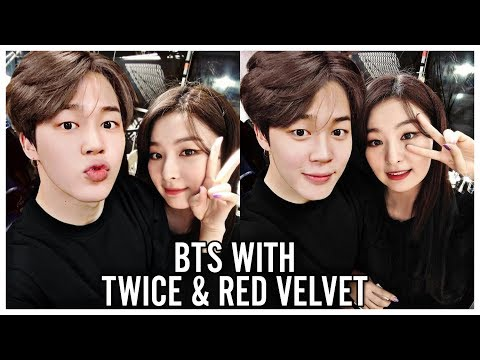BTS WITH TWICE & RED VELVET