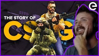 Forsen Reacts To The Story of CS:GO: The Game That Never Dies by theScore esports