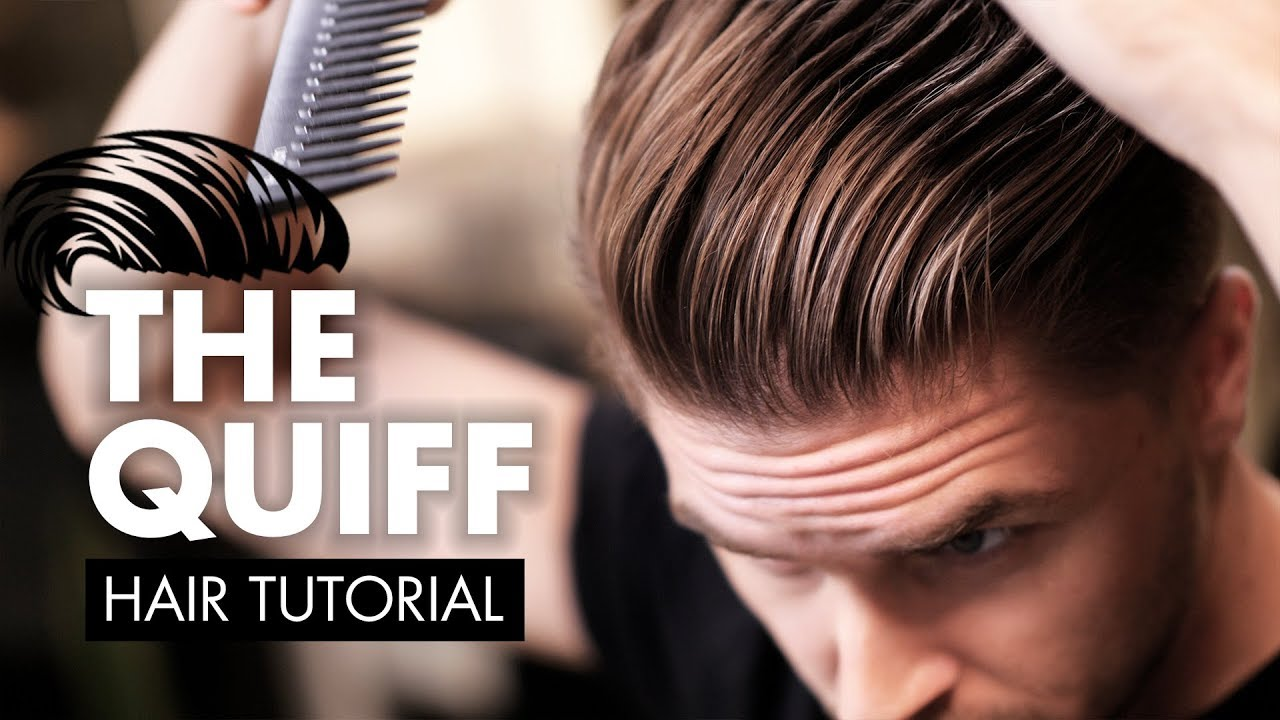 The Perfect Quiff Hairstyle Tutorial  Men Hair 2018  YouTube