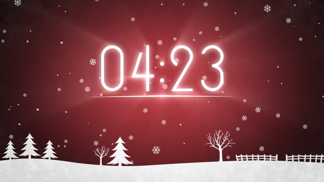 winter snow 5-minute countdown hd by motion worship
