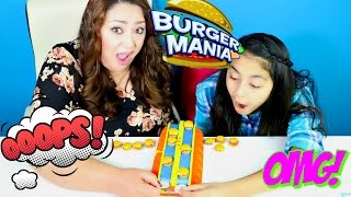 Burger Mania CHALLENGE!!!Making Mini Hamburguers|B2cutecupcakes