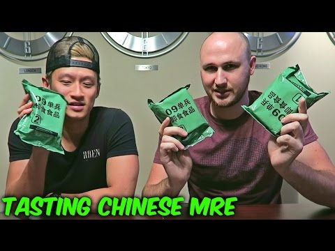 Thumbnail: Tasting Chinese Military MRE (Meal Ready to Eat)