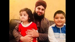 Live with British Kids - Saying Labbaik Ya Rasool Allahﷺ - Hafiz Ahmed Raza Qadri