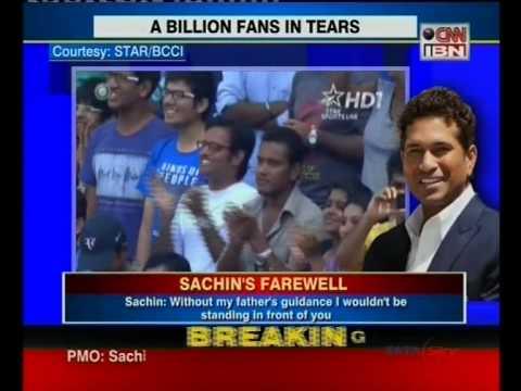 Sachin Tendulkar to get the Bharat Ratna award