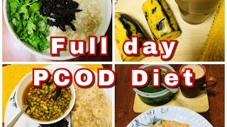 PCOD/PCOS Kerala full day diet/ What I eat for PCOD in Malayalam
