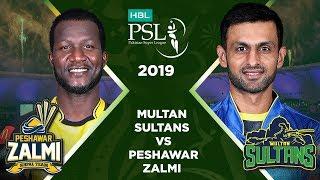 Match 19: Full Match Highlights Multan Sultans vs Peshawar Zalmi | HBL PSL 4 | HBL PSL 2019