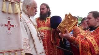 Епископ Пантелеймон в храме Всех Святых