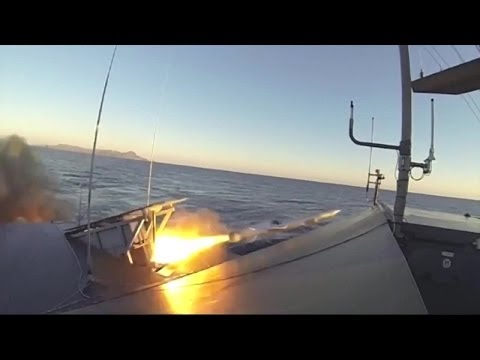 Kongsberg Defence Systems - Naval Strike Missile (NSM) Anti-Ship Live Firing [720p]