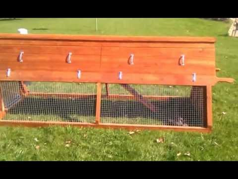 A Frame Chicken Coop 001 3gp Youtube