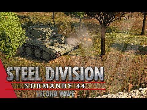 TGPT Round 3! Steel Division: Normandy 44 - YueJin vs Nicholas Fricke (Game 1, Sainte-Mère-Église)