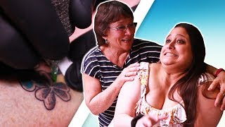 Mother & Daughter Get Matching Irish Tattoos For The First Time