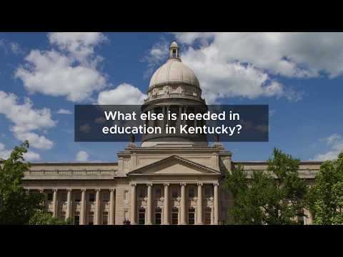 What else does education need in Kentucky?