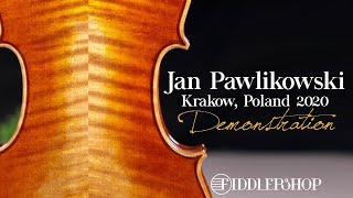 Jan Pawlikowski Bench Violin Krakow 2020