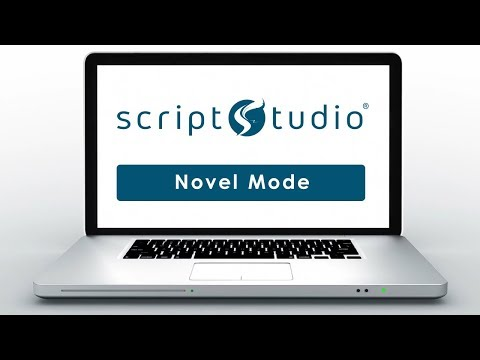 How To Write A Novel With Script Studio Creative Writing Software