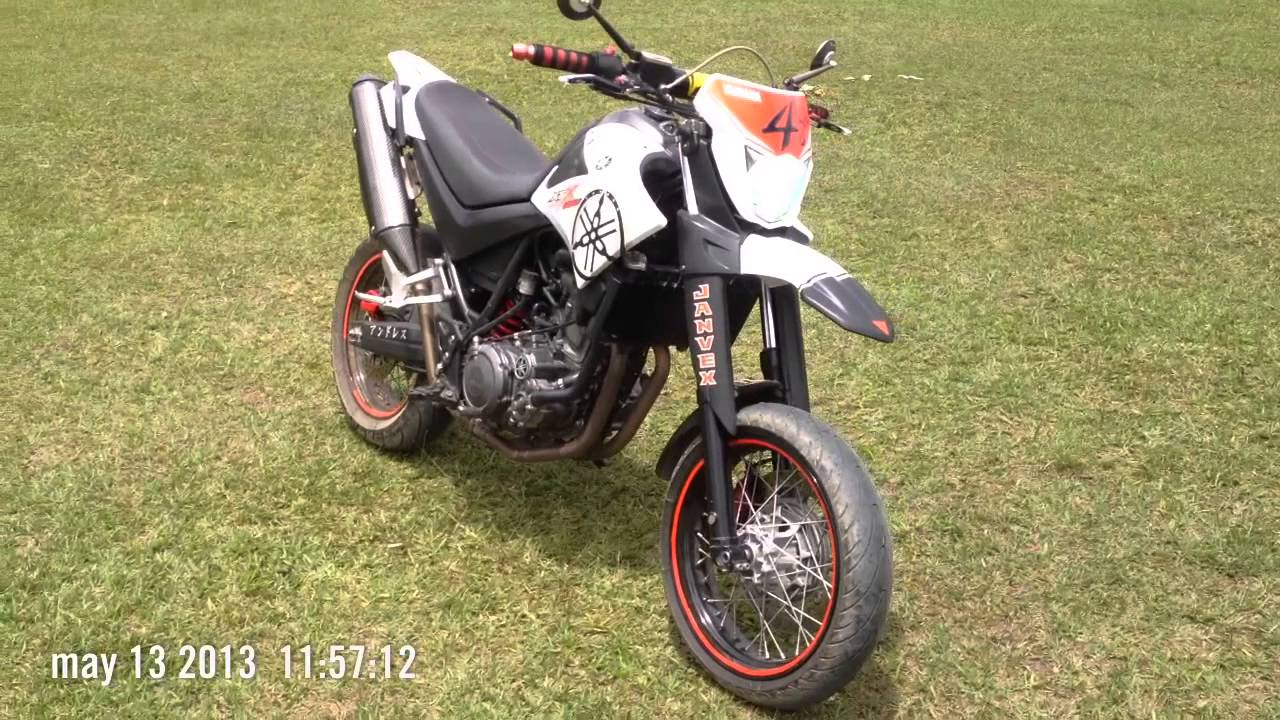 yamaha xt660 x supermotard by janvex youtube. Black Bedroom Furniture Sets. Home Design Ideas
