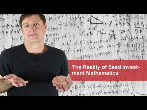 The Reality of Seed Investment Math