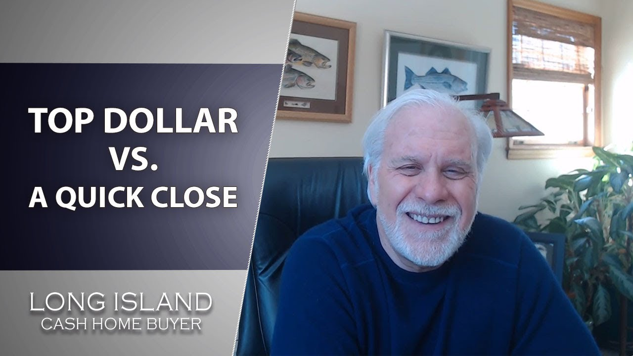 Long Island Cash House Buyer: Do You Want to Get Top Dollar or Sell Fast?
