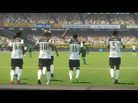 Ghana vs Sénégal PES 2018 Difficulté Superstar Gameplay PC