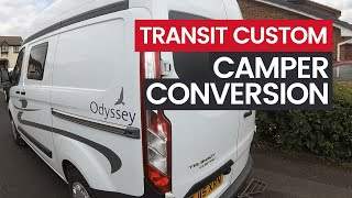VAN TOUR - Ford Transit Custom Camper Conversion