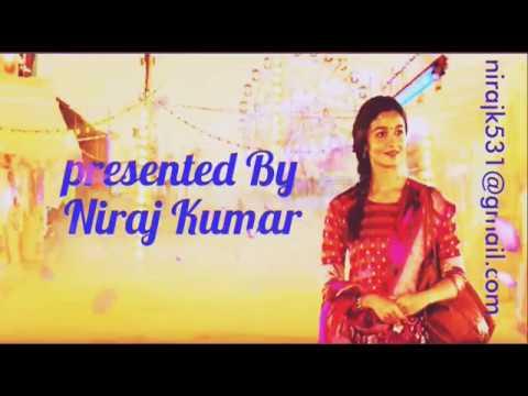 Roke Na Ruke Naina (Clean Noise free Karaoke) With Running Lyrics- Badrinath Ki Dulhania  Arijit