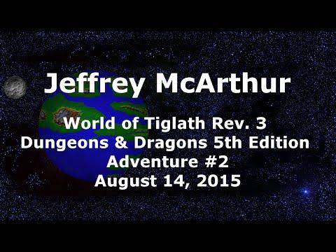 World of Tiglath Campaign – Rev 3 – Adventure #2