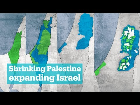 Brief history of Palestinian land