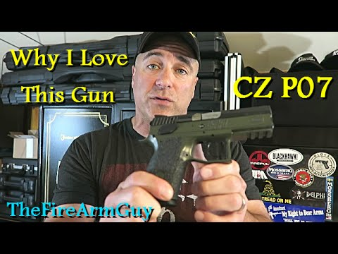 CZ P07 - Why I Love Owning this Gun - TheFireArmGuy