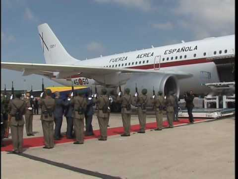 Late president Bongo's body repatriated from Spain to Gabon