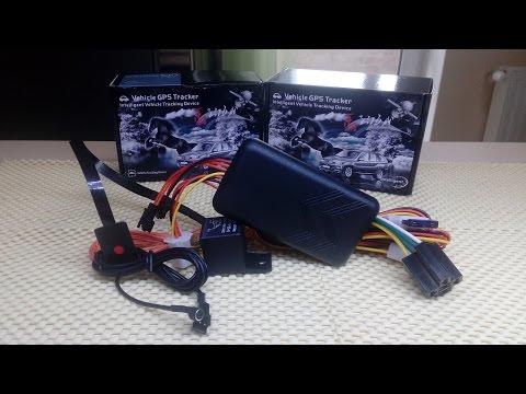 Автомобильный GPS трекер GT06 с AliExpress