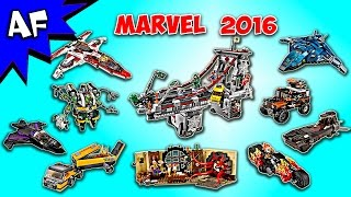 Every Lego MARVEL Super Heroes 2016 Sets Complete Collection