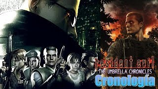 La cronología de Resident Evil: The Umbrella Chronicles