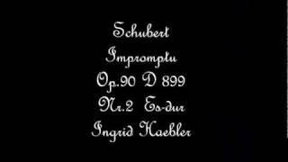Schubert Impromptu Op.90 D899 Nr.2 Es-dur,Ingrid Haebler