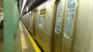 ind queens blvd line r160a 2 f train at 169th st hillside ave manhattan bound