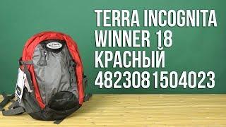Розпакування Terra Incognita Winner 18 Червоний 4823081504023