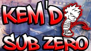 Call Of Duty Ghosts Nemesis KEM Challenge Sub Zero
