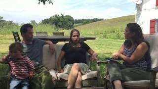 Vivre Cru ! - Rencontre avec une famille Frugivore
