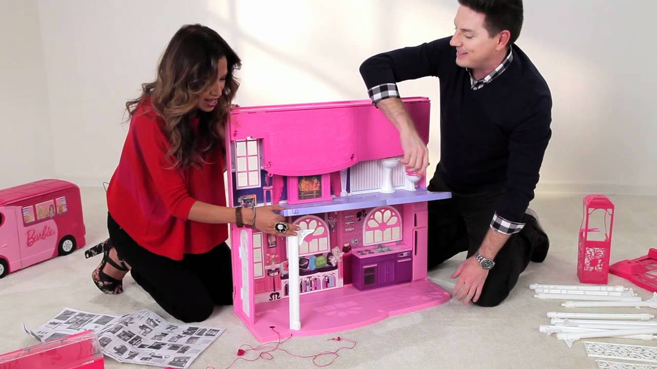 maxresdefault fundamental tips to assemble the barbie 3 story dream townhouse by Barbie Dreamhouse at bayanpartner.co