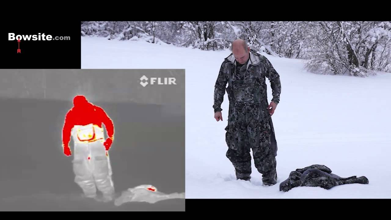 bdd13d02fa3db Testing Winter hunting clothes with FLIR Thermal Camera - YouTube
