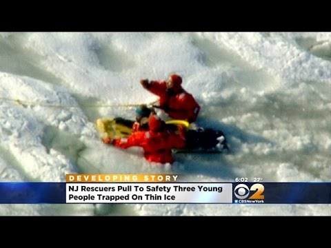 3 Rescued From Icy Waters Off Sandy Hook Bay In Middletown, N.J.