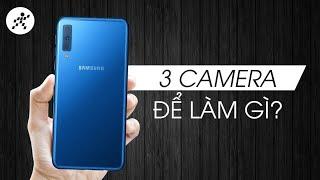 Galaxy A7 (2018): 3 camera chụp ảnh có đẹp hơn?